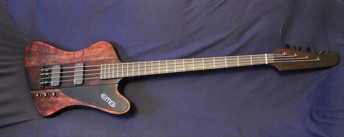 "THUNDERGOD - ""почти копия"" Gibson Thunderbird Бас-Гитара, Gibson, Рукоделие, Длиннопост"