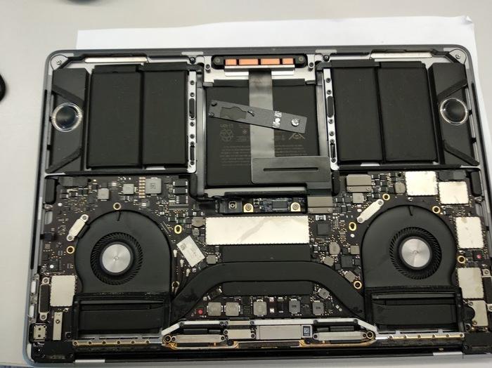 """Ремонт залитогоApple MacBook Pro 13"""" Touch Bar пикабушника Ремонт ноутбуков, Мастерская электроники 78, MacBook PRO 13, Санкт-Петербург, Длиннопост"""
