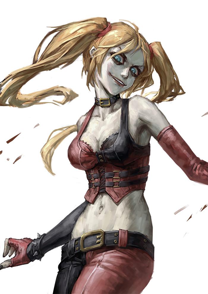 Harley Quinn Арт, DC, Харли Квинн