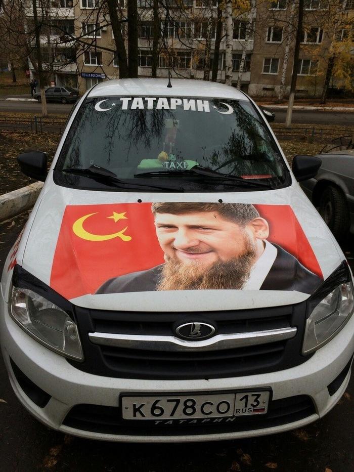 Обычное мордовское такси