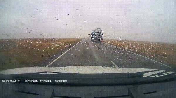Прилетело #114 ДТП, Трасса, Прилетело, Астрахань, Элиста, Встречка, Гифка, Видео, Длиннопост