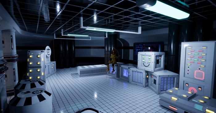Robo Inc Project Cyberpunk game, Sci-Fi, Gamedev, Видео