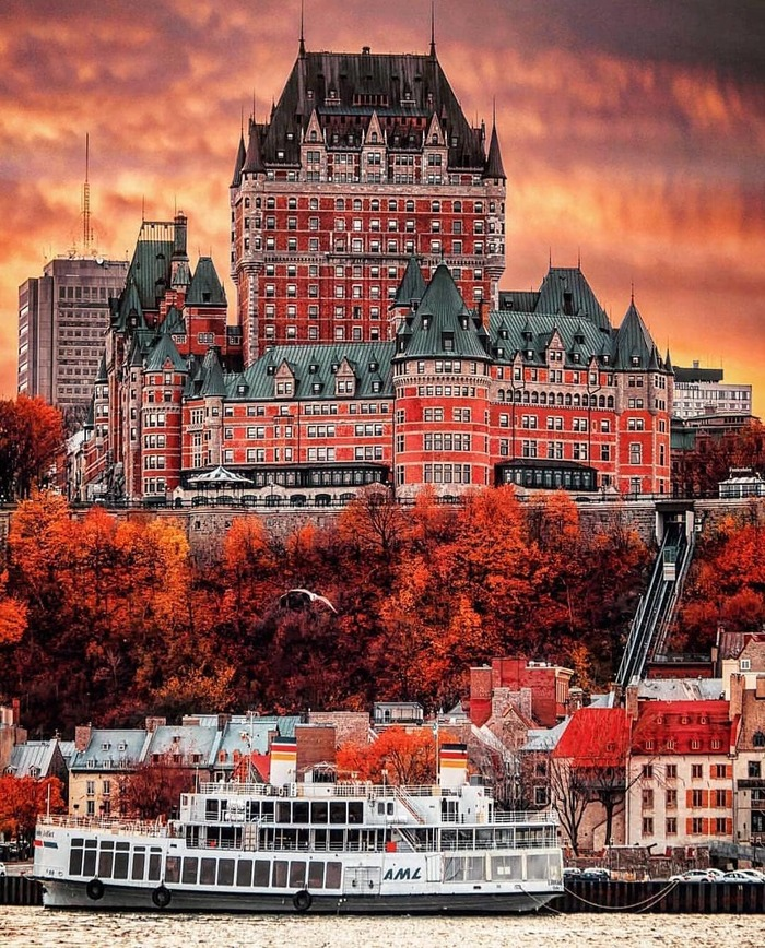 Осенний Квебек