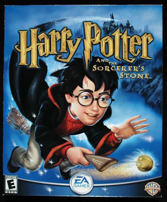 """""""Гарри Поттер и философский камень"""" - ремастеринг игры + фриплей Игры, Компьютерные игры, Гарри Поттер, Гарри Поттер и философский кам, Мод, Фанатское творчество, Видео, Длиннопост"""