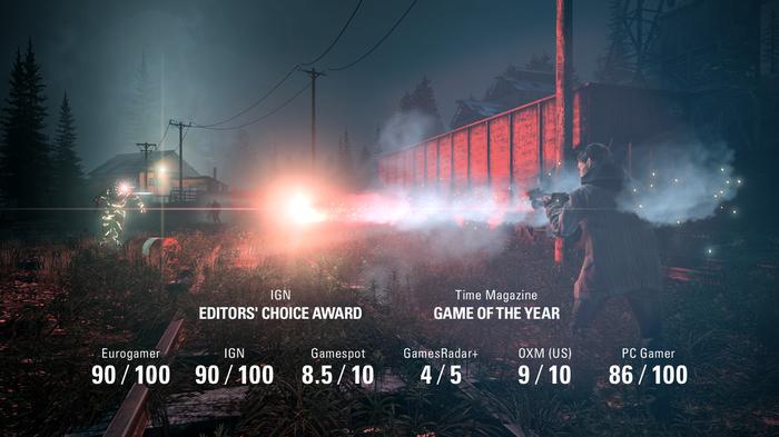 Игра Alan Wake вернулась в Steam и продаётся со скидкой 80% Alan Wake, Steam, Скидки