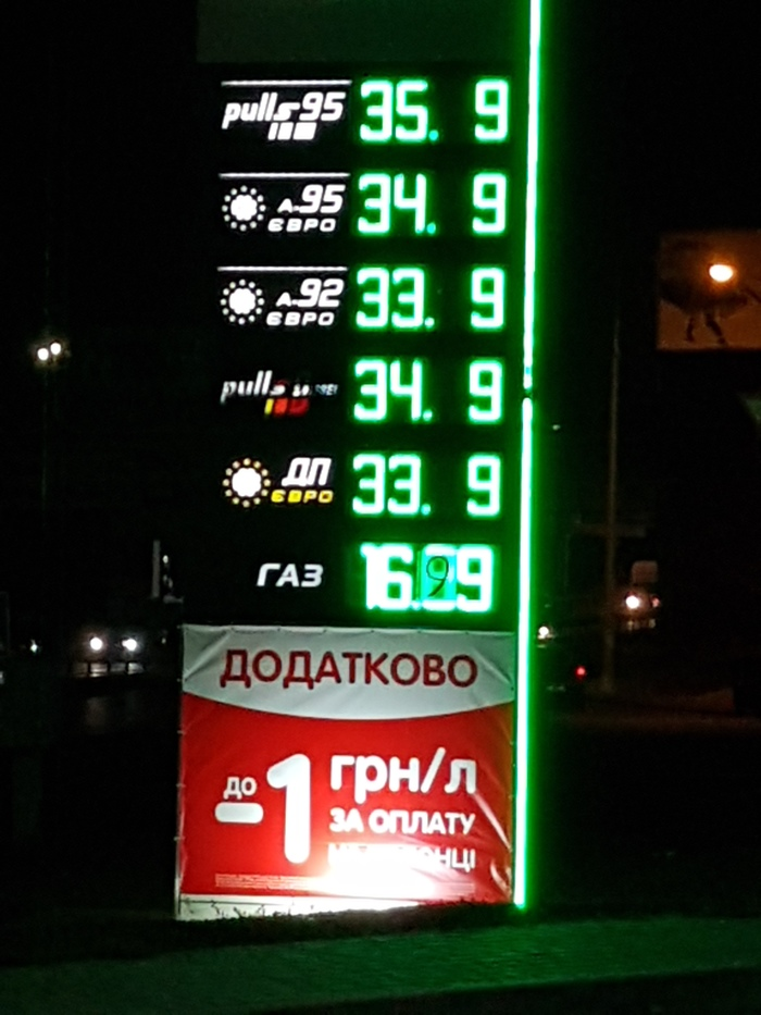 Тот неловкий момент... Одесса, ОККО, Украина, Цена на бензин, Цена на газ
