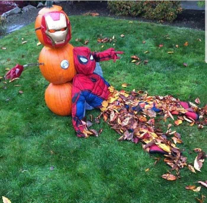 Мистер Старк, что-то мне не хорошо... Marvel, Человек-Паук, Железный человек, Reddit, Мстители: Война бесконечности, Хэллоуин, Спойлер