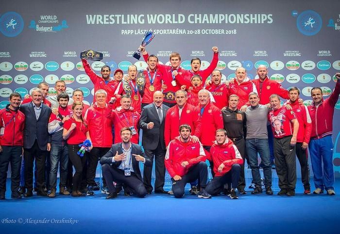 Сборная России вернула себе звание лучшей борцовской державы в мире выиграв 6 золотых медалей в Будапеште! Спорт, Борьба, Сборная России, Чемпионат мира, Рекорд