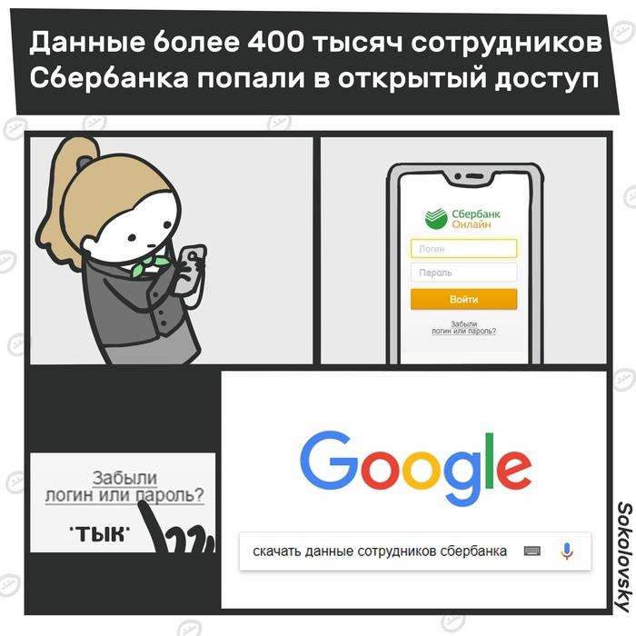 СливБанк Банк, Сбербанк, Слив, Комиксы, Sokolovsky!, Новости