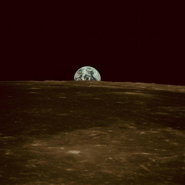 Земля. Снимок с Аполлона 11