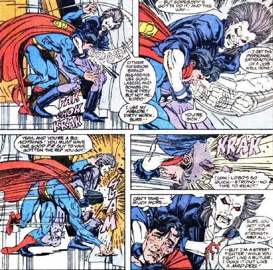 Супергеройские способности: Лобо Супергерои, Суперзлодеи, Dc Comics, 90-е, Брутальность, Комиксы-Канон, Длиннопост
