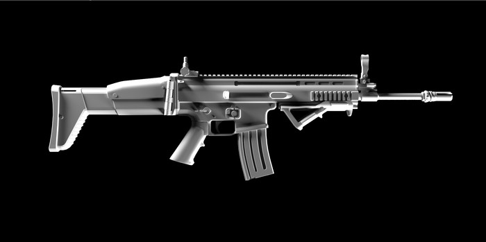 Через терни... 3ds max, Оружие, Shotgun, Gamedev, 3d-Art, Zbrush, Highpoly, 3dmodels, Длиннопост