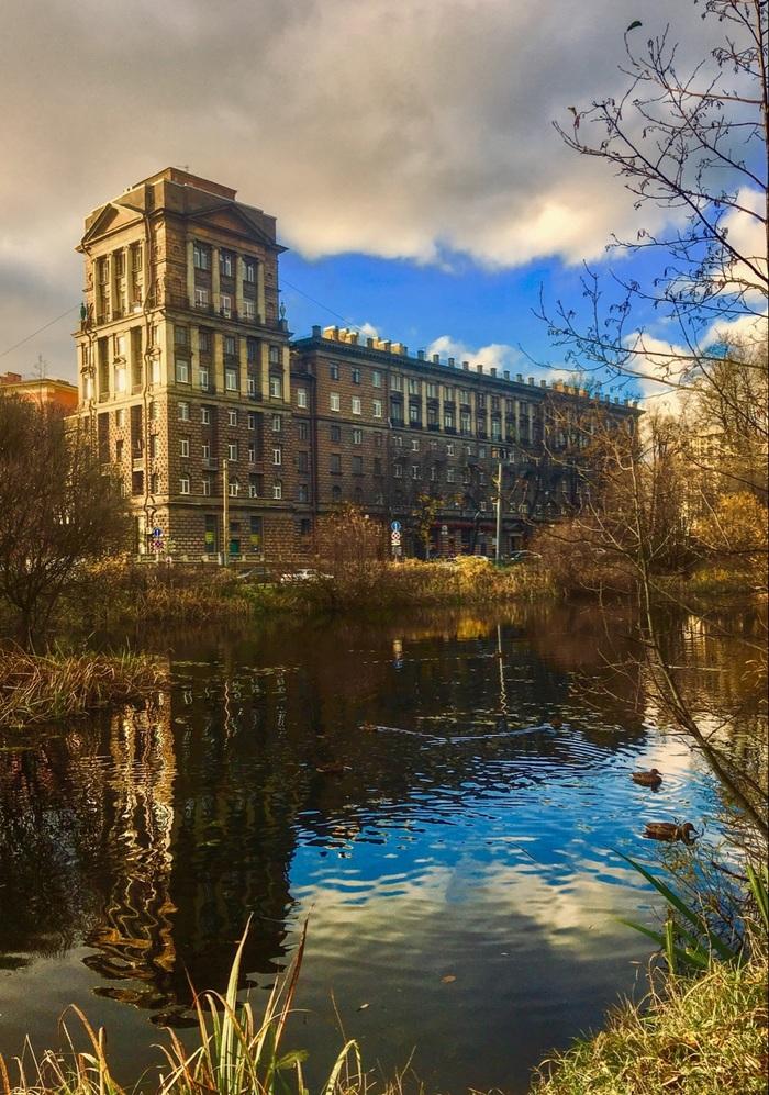 Санкт-Петербург, парк Лесотехнической академии, середина октября