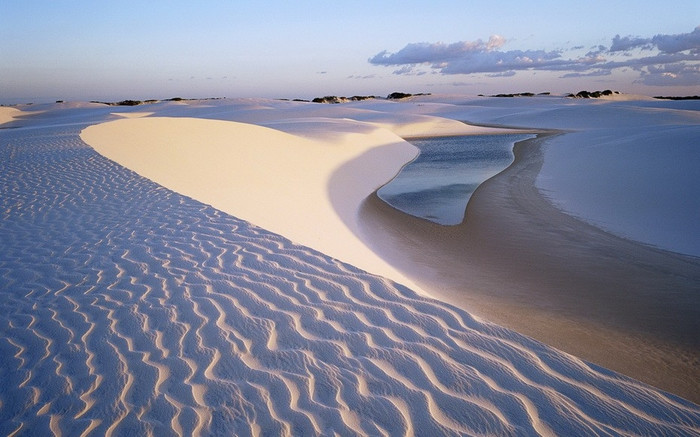 Национальный парк Ленсойш Mараненсеш (Бразилия) Бразилия, Песчаные дюны, Уникальное, Красота природы, Длиннопост