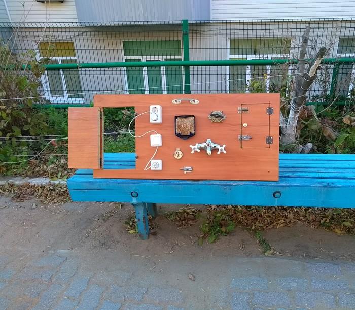 Прогрессивная игрушка Поделки, Игрушки, Дети, Доска, Конструкция, Владивосток, Развитие, Бизиборд