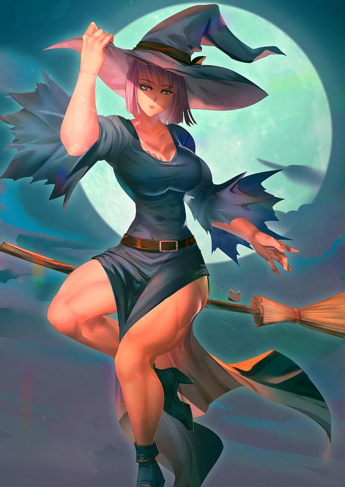 Maud Witch Bakki, Арт, Крепкая девушка, Maud Pie, My Little Pony, MLP Edge, Хуманизация, Длиннопост, Ведьмы