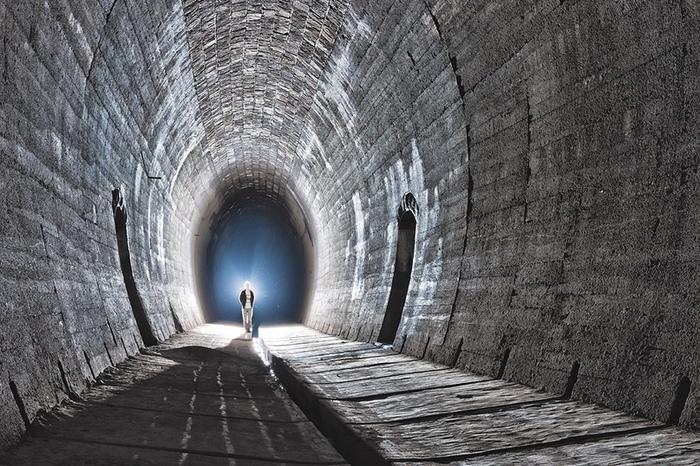 Красивый заброшенный ЖД тоннель в Словакии Урбантуризм, Забугорныйурбан, Урбанфото, Длиннопост