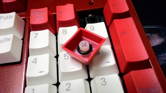 Мой моддинг клавиатуры Клавиатура, Моддинг, Длиннопост