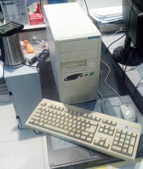 "Запуск компутерной ""древности"" Старое железо, Ретро, DOS, Олдскул, Длиннопост"