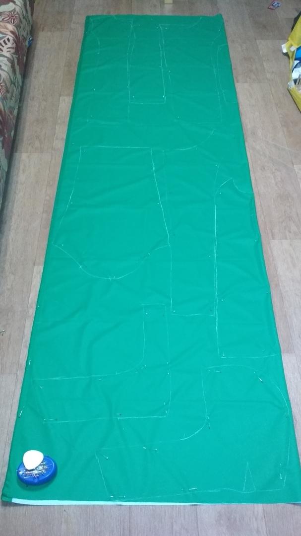 Зеленая куртка на зиму для себя. Наконец то!! Пошив верхней одежды, Шитье, Рукоделие с процессом, Женская куртка, Ручная работа, Длиннопост