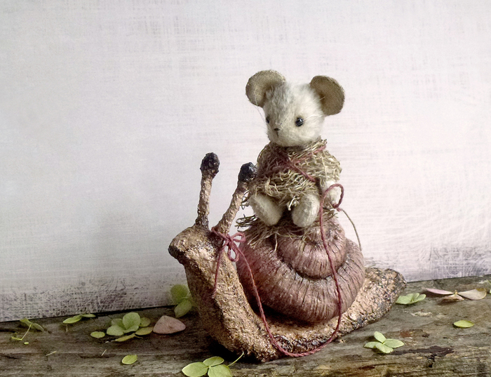 Осенняя прогулка. Рукоделие, Рукоделие без процесса, Белая мышка, Друзья тедди, Мишки, Кошки-Мышки, Длиннопост