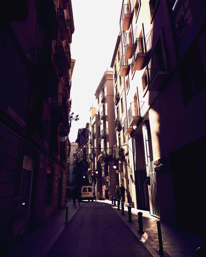 Готический квартал Барселоны Фотография, Лига фотографов, Photoshop, CaptureOne, Город, Барселона, Готика