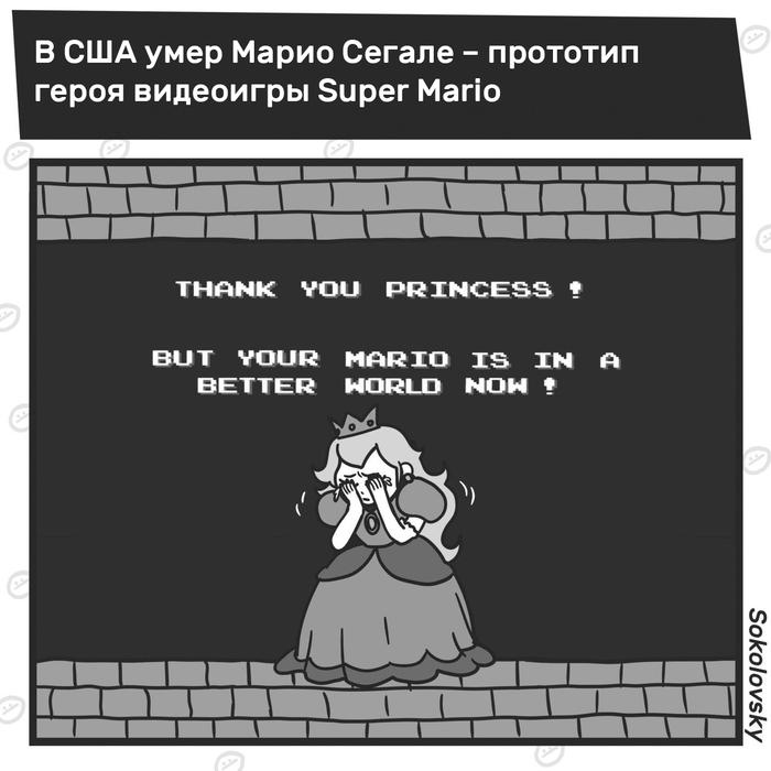 Super Mario RIP ÐовоÑÑи, Sokolovsky!, Super Mario, СмеÑÑÑ