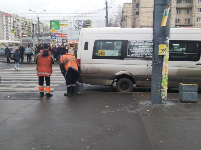 Коротко о том как борются с рекламой в Санкт-Петербурге Санкт-Петербург, Коммунальщики, И так сойдет, Длиннопост