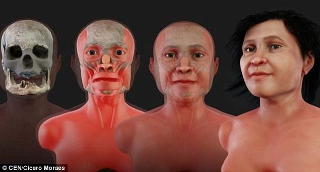 Ученые показали, как выглядела женщина 14 тысяч лет назад Антропология, Женщина, Внешность