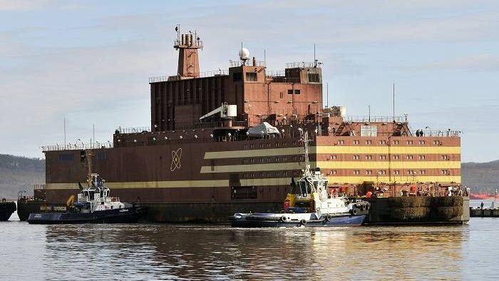 «Атом на воде»— запущен первый плавучий энергоблок Атомная энергетика, Наука, Новости, Плавучая АЭС
