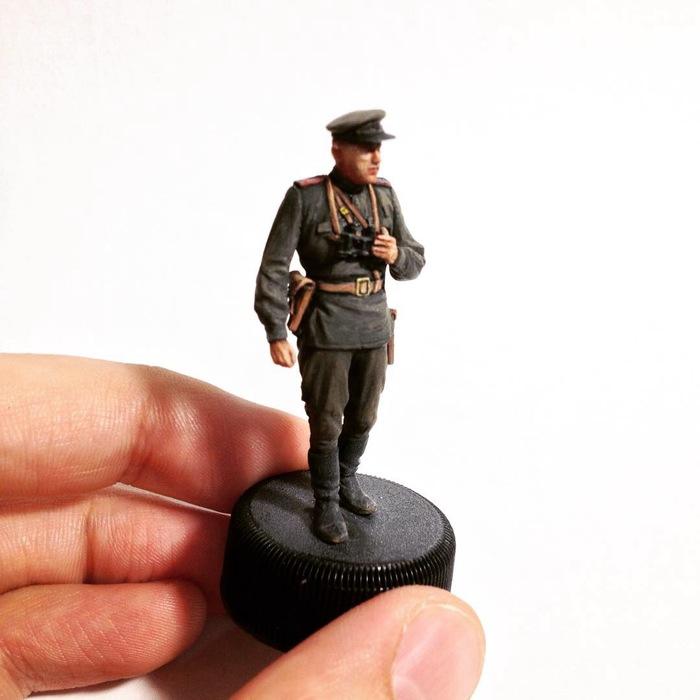 Маленькое хобби. Пехота Красной армии 1943-1945 Sunkpainting, Моделизм, Солдатики, Темпера, Длиннопост