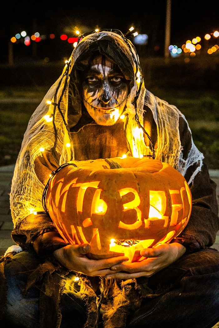 Наснималось тут.. Хэллоуин, Грим, Фотография, Тыква, Canon, Длиннопост