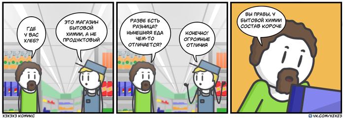 Современная еда Комиксы, Юмор, Xzxz3, Еда