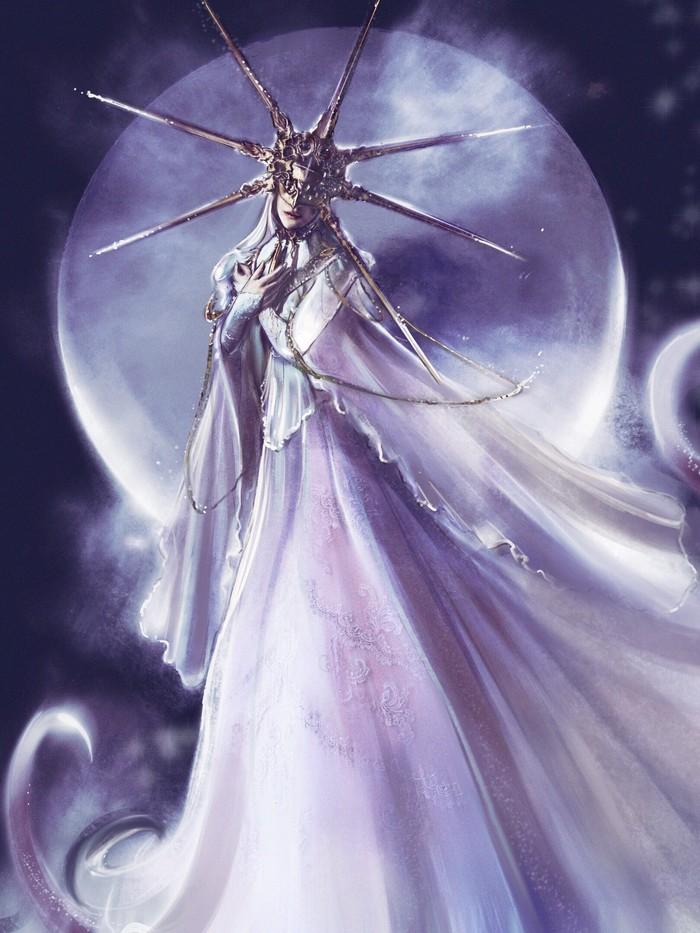 Gwyndolin and Aldrich Dark Souls, Dark Souls 3, Dark Sun Gwyndolin, Devourer of Gods Aldrich, Арт, Длиннопост