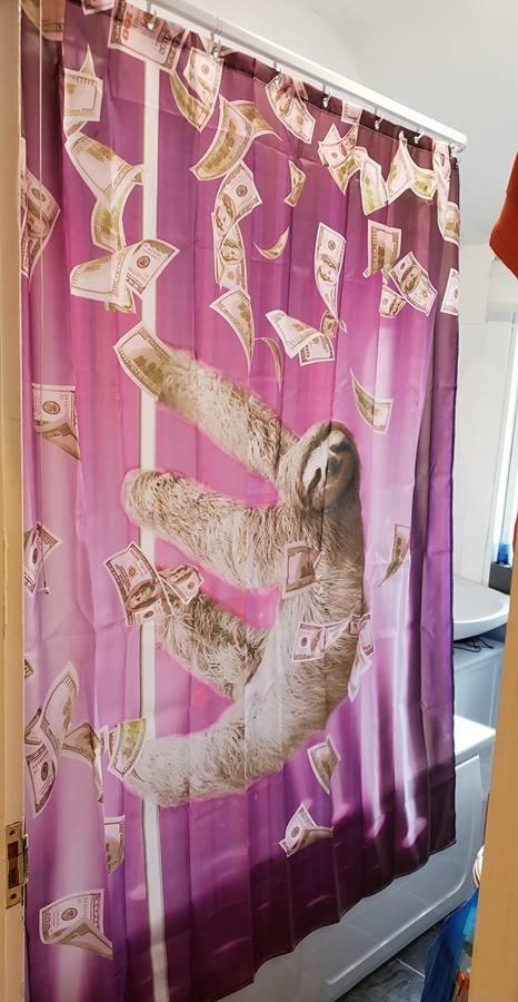 Моя новая шторка для ванной
