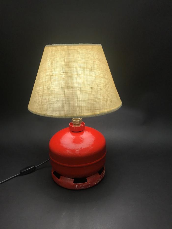 Новая лампа из пропанового баллона. Лампа, Своими руками, Баллон, Лофт, Царь горы, Длиннопост