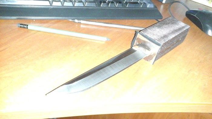 Решил я тут найти себе хобби Нож, Хобби, Своими руками, Длиннопост