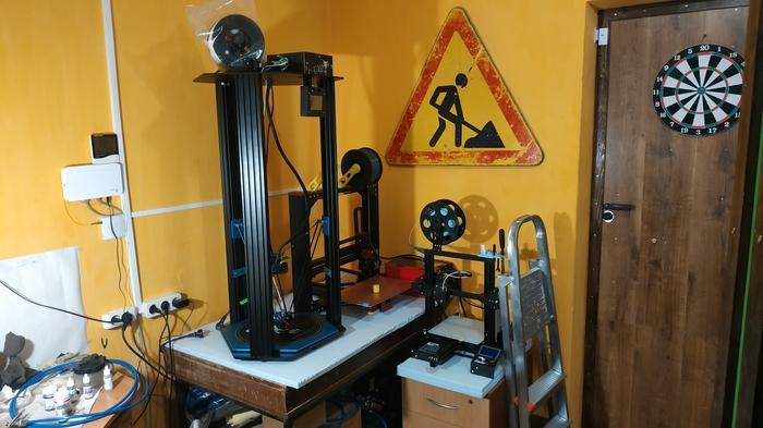 Моя маленькая мастерская Мастерская, 3d печать, Своими руками, Длиннопост, Грут