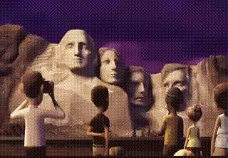 Смерть Линкольна («Облачно, возможны осадки в виде фрикаделек») Кинодетали, Облачно возможны фрикадельки, Линкольн, Фильмы, Гифка