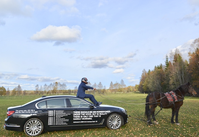 BMW 750Li из Эстонии BMW, BMW 7, Поломка, Качество, Авто, Эстония
