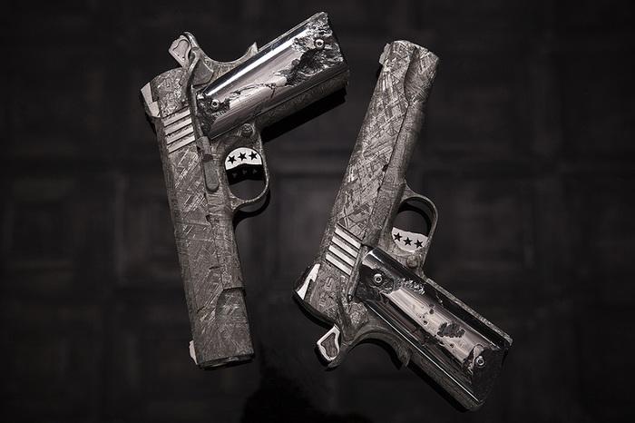 Самый дорогой пистолет в мире. Colt, Оружие, Метеорит