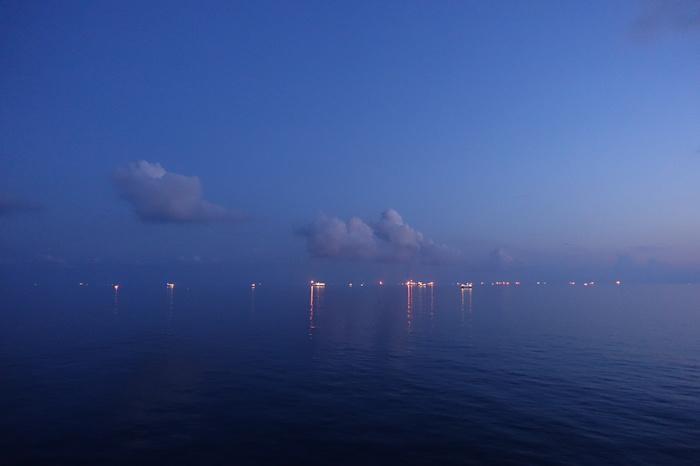 Оттенки синего. Южно-китайское море