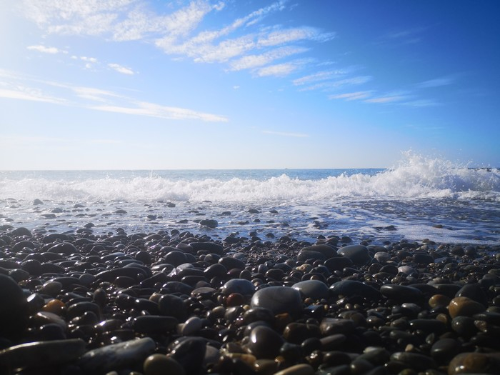 Где-то уже зима.... Черное море, Море, Осень, Длиннопост