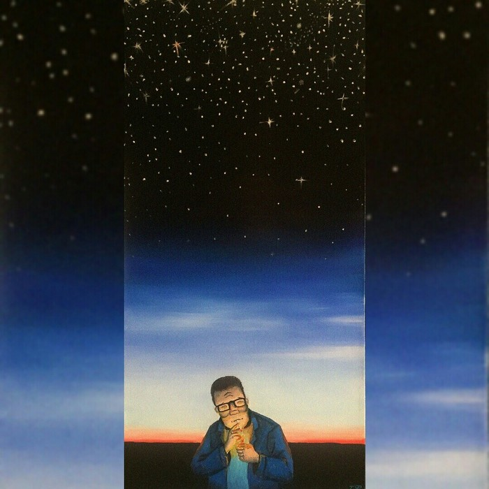 Мои работы маслянисто-холстяные Искусство, Картина, Герои мультиков, Творчество, Длиннопост