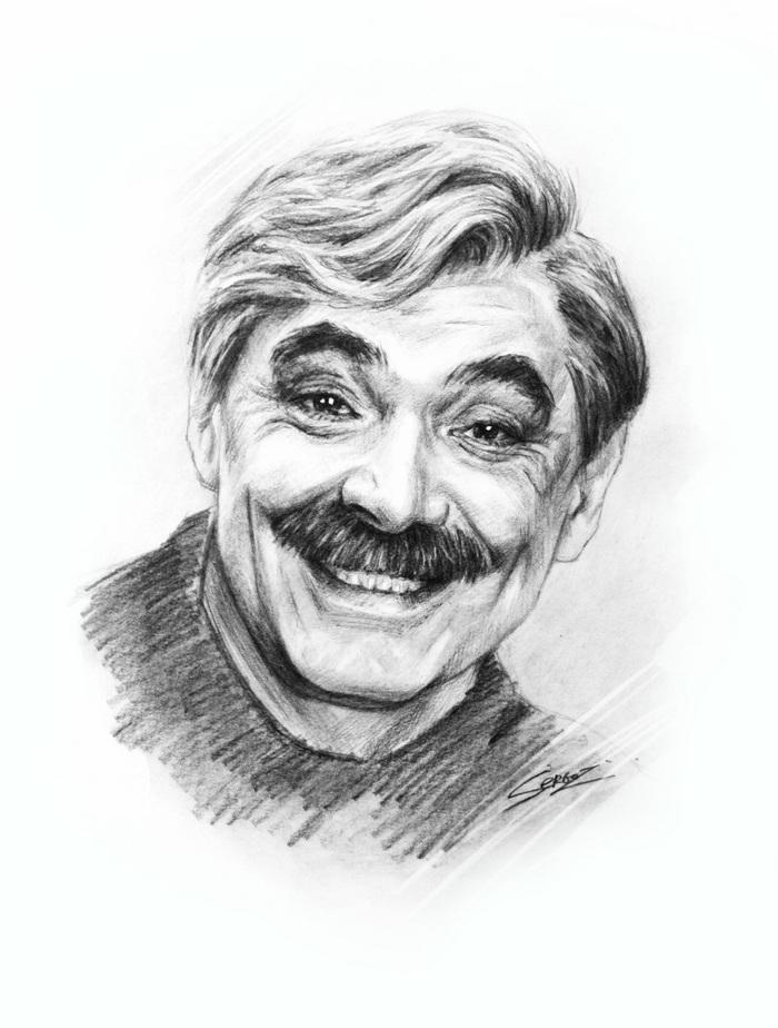 Немного портретов Портрет, Длиннопост, Народный артист СССР, Артист, SergoZ, Народный артист, Актеры, Знаменитости