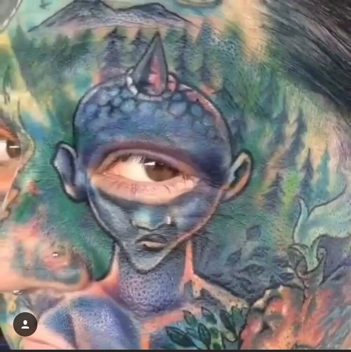Тату Тату, Лига любителей татуировки, Татуировка на теле, Циклоп