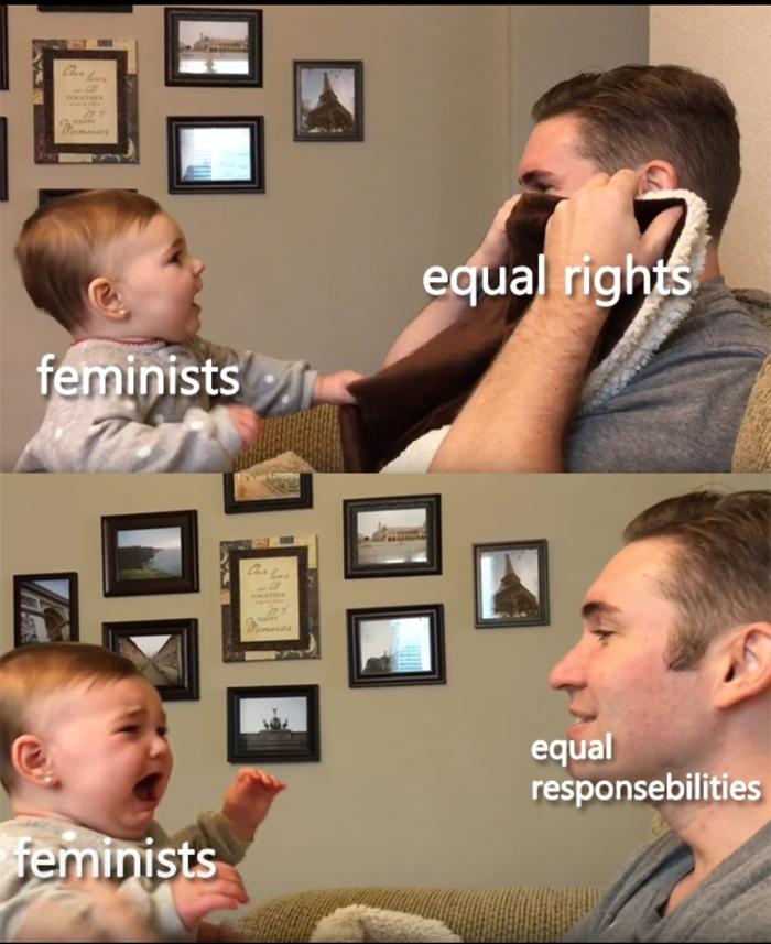 Равные права Феминизм, Равные права, Ответственность, Дети