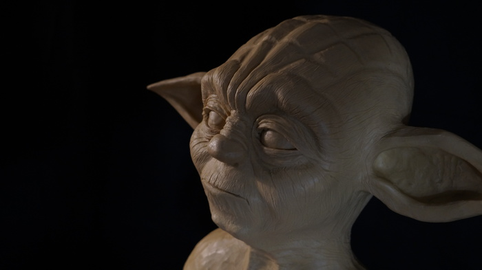 STAR WARS - Magistr Yoda (sculpture) Star Wars, Magistr Yoda, Sculpture, Йода, Джедаи, Art of Sculpture, Длиннопост