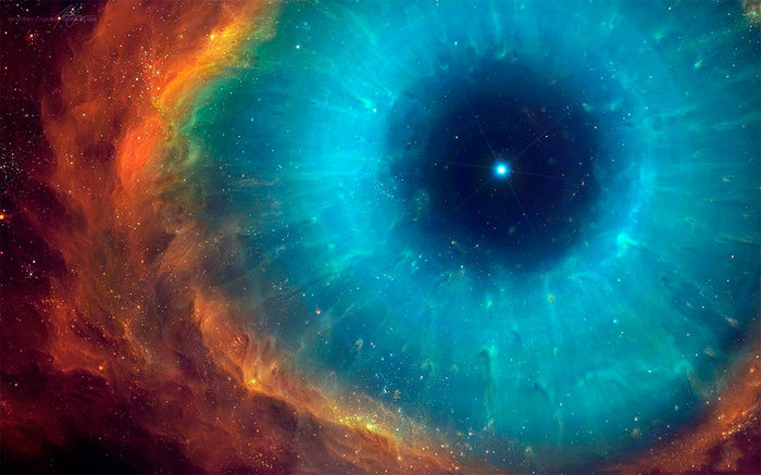 helix nebula eye of god - HD 1600×903