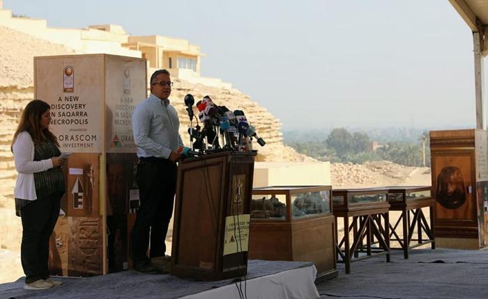 В Саккаре обнаружены 7 Древнеегипетских гробниц Древний египет, Саккара, Археология, Открытие, Гробницы, Египет, Некрополь, Длиннопост